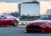 Aston Martin duó - A Vossen ismét kitett magáért!