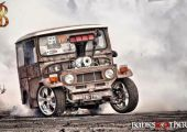 Burnoutra építve -  SA Weldworx Toyota FJ40
