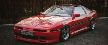 Ferrari helyett - Toyota Supra  Mk3
