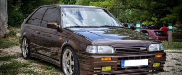 Családban marad - Mazda 323 GT  Turbo TWR