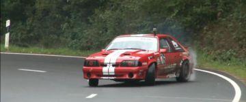 Ford Mustang a hegyi versenyen!