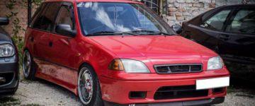 #spotted - Suzuki Swift, egyedi megoldásokkal