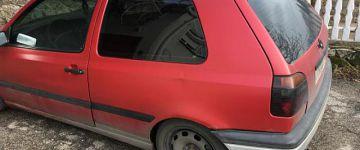 Golf MK3 1z felújítása