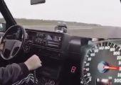 0-300 km/óra mindössze 8 másodperc alatt! Meglepő, hogy egy kettes Golfról van szó?