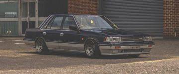 Old school rulez! - Nissan Laurel az öregsuli szabályai szerint.