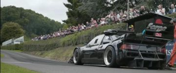 #napindító - Ford RS200 onboard