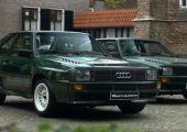 Audi Sport Quattro - Mindjárt kettő is szerepel ebben a videóban a ritkaságból!