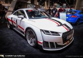 Audi TT Clubsport Turbo Concept a SEMA-ról.