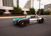 Az H2Oi legfurcsább alkotása. Mustang és Corvette összegyúrva!