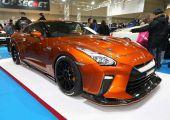 Amikor valóban van funkciója az új elemeknek! - Top Secret R35 a Tokyo Auto Salon-ról.