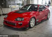 Toyota Supra a HKS Premium Day-ről.