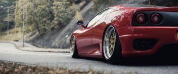 Ferrari 360 Modena minőségi alkatrészekkel, finoman módosítva.