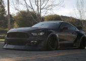 #napindító - Widebody Mustang