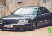 #spotted - Birodalmi romboló. Audi A8 hazánkból.