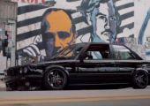 Földhöz vágott E30, Miami utcáin...