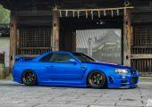 Nissan Skyline R34 - Hasaló Godzilla