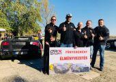 Lamborghinivel élményautózhattak az AMTS legszebb klubos standját építő csapat tagjai