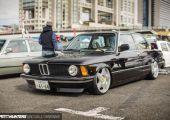 Német autó, olasz felniken, Japánban - BMW E21