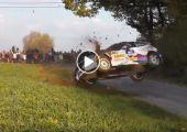 Amikor nem adja ki... -  Összeállítás rally balesetekről.