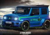 Hot Wheels Style Jimny