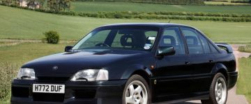 Legenda a 90-es évekből - Lotus Omega (Vauxhall Carlton)