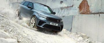 Érdekesség - Range Rover Velar, erősítőkúra után.