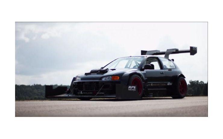 Mindent a leszorítóerőért! - Honda Civic, hegyi versenyre!