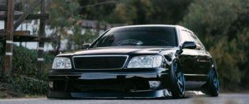 Kicsit VIP, kicsit drift - Lexus LS400