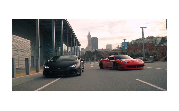 Két brutális fenevad, egy videóban! - Ferrari GT3 458 és Lamborghini Huracan Performante