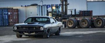 Kraken Cuda - 1970-es évjáratú Plymouth Barracuda modernizálva, de még mindig hörgő V8-cal!