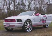 Megérett a világ a pusztulásra! - Hello Kitty Mustang....