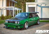 Dolgozd fel! - BMW E30 Touring, Pandem szettel.