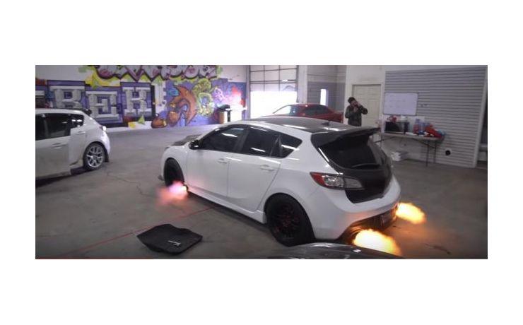 #eargasm - Mazda 3 800 lóerővel!