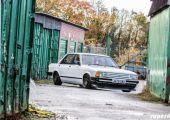 Ford Granada, modern technikával a géptető alatt.