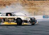 Drift - Az LSX V8 motorral szerelt Audi A5, mozgás közben.