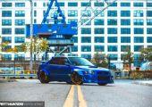 Nem kell mindig karcolni! - Subaru Impreza, izmos külsővel.