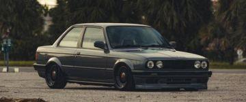 Old school verda, szteroidkúra után - BMW E30