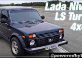 Lada Niva, turbós V8 motorral a motorháztető alatt!