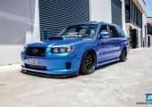 Nem gyakori alap - Subaru Forester STI