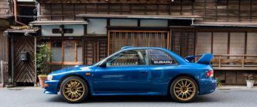 Rally autó utcára! - Subaru 22B