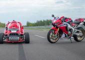 Most már hivatalosan is ez a Honda a leggyorsabb fűnyíró a világon!