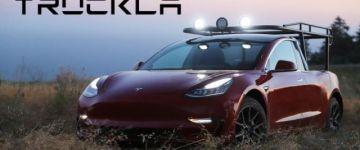 Truckla - A világ első Tesla pick up-ja...... nem Elon Musk kezei közül!