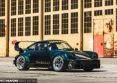Öregsulis ritkaság - Sunburst Porsche 964 Turbo