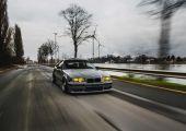 Drift projektből, utcai gép - BMW E36 Belguimból.