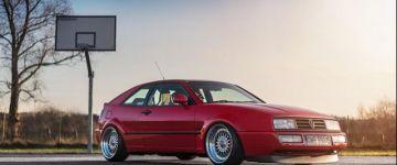 Amikor a klasszikus forma, modern technikával keveredik. - VW Corrado
