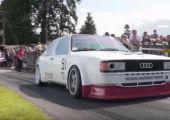 Hangot fel! - 500 lóerős Audi 80 Quattro!