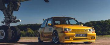 Old school tuning - Renault 5 GT Turbo
