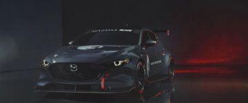 Iszonyat dögös ez a Mazda3, de sajnos nem utcára készült.