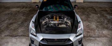 Nissan R35 GT-R - Módosítás a jobb köridőkért.