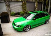 Elkészült és durvább mint amire számítottunk! - Audi RS4 B5 Hulk